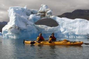 Aventura hotel y kayak en el Sur de Groenlandia
