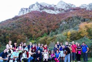 Senderismo en grupo en Asturias: Parque Natural de Redes en Semana Santa