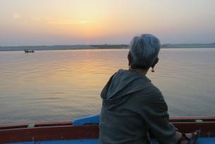 Viaje por el valle del Ganges con festival de Dev Diwali