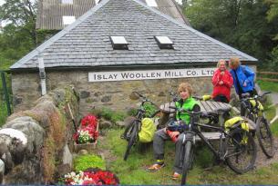 Islas de Escocia en bici y ferry