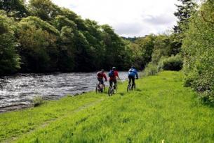 Escocia: Ruta en bici Castillos cruzados