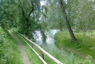 En bicicleta por el rio Llobregat