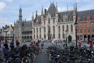 Belgica: Pedaleando por Brujas y alrededores