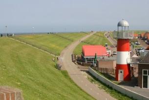 Norte de Holanda en barco y bicicleta