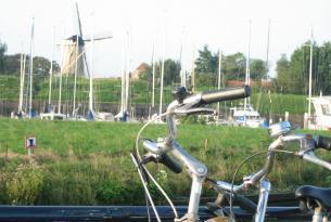 Sur de Holanda en barco y biciccleta