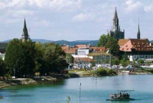 Clásica ruta en bicicleta por el Lago Constanza