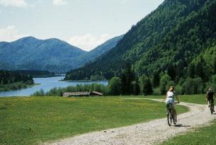 Alemania: el lago Chiemse en bicicleta