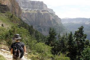 Senderismo en el Parque Nacional Ordesa y Monte Perdido.