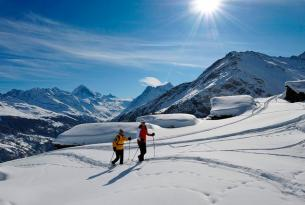 Raquetas de nieve en Valle de Chamonix