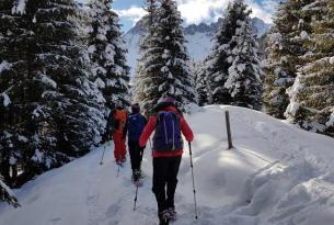 Raquetas de Nieve en los Alpes: Valle de Aosta