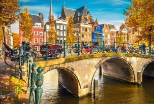 París, Países Bajos y Centro Europa