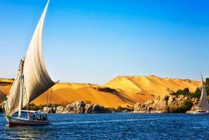 Egipto: lujo en El Cairo y crucero por el Nilo