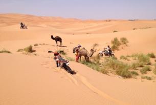 Viaje en moto enduro Marruecos Atlas y Sahara, KTM