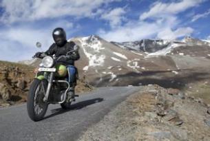 Viaje en moto Valle de Spiti India (Himalaya) en Royal Enfield