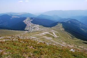 Viaje en moto BMW Rumania Transilvania