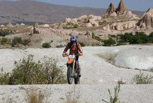 Viaje en moto Enduro Turquía Capadocia