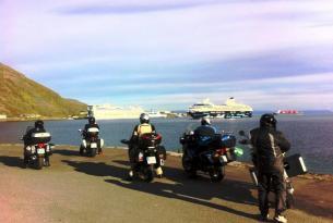 Viaje en moto Noruega, Cabo Norte, en moto própia o alquiler