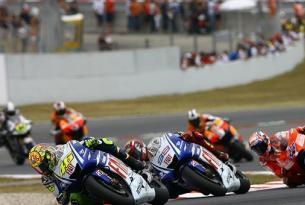 Viaje en MotoGP, Gran Premio de Catalunya 2014, circuito de Montmeló.