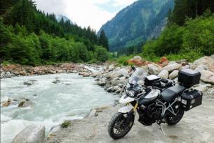 Viaje en moto Tridays Triumph 9 días en moto propia o en Triumph Tiger 800 cc