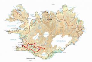 Viaje en moto Islandia Desierto Negro