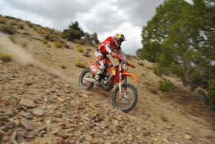Viaje en moto Baja California en moto enduro