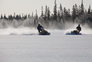 Viaje en moto de Nieve Rusia, Parque Nacional de Paanajärvi