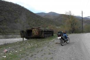Viaje en moto Trail Ruta de la seda Armenia 7 dias 5 en moto