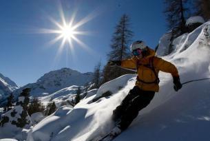 Ski en Les 4 Vallées (Suiza)