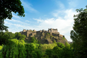 Recorre Escocia de lujo en castillos (fly&drive)