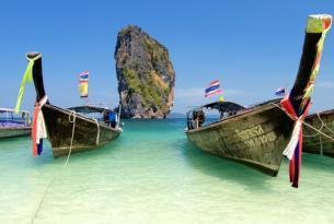 Circuito de sur a norte de Tailandia y playa de Krabi en Fin de año