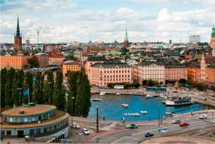 Gran ruta de Escandinavia con Rusia en grupo