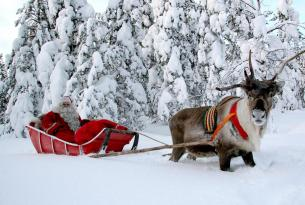 Fin de año en Laponia Finlandesa