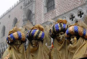 Carnaval de Venecia en grupo