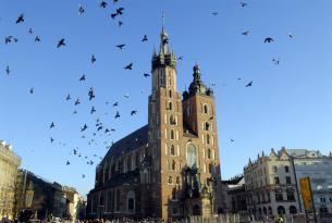 Polonia: Cracovia con visita panorámica (salidas desde Sevilla)
