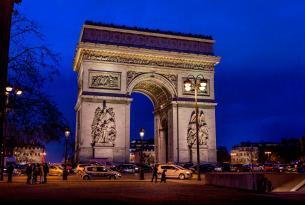 Puente diciembre en París desde Biarritz
