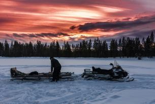 Puente diciembre : Aventura ártica en Rovaniemi