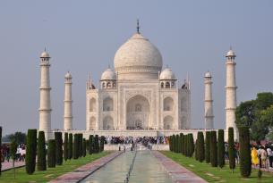 El Triángulo de Oro de la India en pensión completa