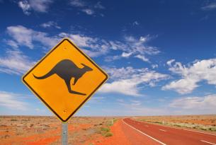 Costa Oeste de Australia en coche de alquiler