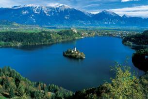 Eslovenia en bicicleta saliendo desde Bled