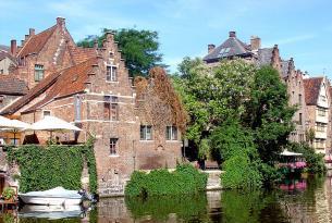 Bélgica: De Brujas a Bruselas en barco y bici