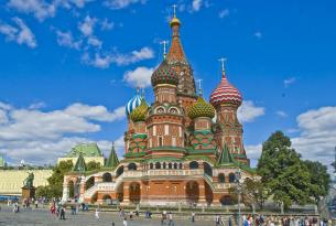 Imagenes de Rusia: San Petersburgo y Moscú